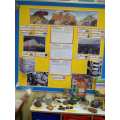Our rock museum display