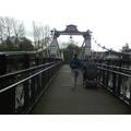 This is a suspension bridge
