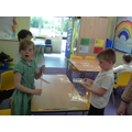 We explored diferent materials for houses