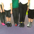 Odd socks Wednesday for anti bullying