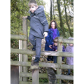I can climb a stile!