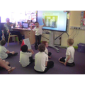 We use phonics and memory skills to play games!