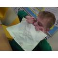 I can't stretch paper...