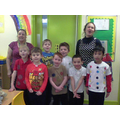 We were spotty for Children In Need!