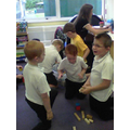 Team tower building challenge!