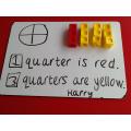 Woo hoo! Really grasping fractions