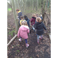 Going on a bear hunt Squelch Squirch