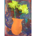 Impasto and daffodils