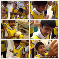 Haider's wonderful expressions during TESCO tour