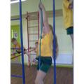 I can climb the ropes