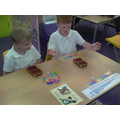In maths we played lots of maths games!