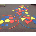 On Friday we sorted shapes