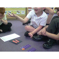 We used numicon to help us spot number bonds