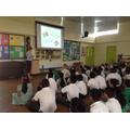 Arts week assembly