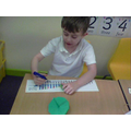 I can subtract by counting back on a numberline