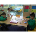 We are learning to add and record our work