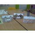 Da-da! Our finished houses!