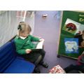 I like reading during freeplay!