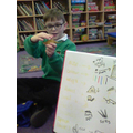 We learned about orange 'what like' words