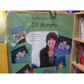 Our Reading Spine Author for next half term
