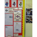 Our working maths wall