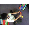 I can make doubles using numicon