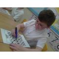 We all crossed off loads of rhymes!