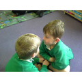 We learning to talk to a partner