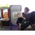And Mrs Stokes read us a book about Word War 1