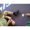 We used Kindermaths to add