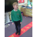 We are learning to find 2 more and 2 less