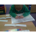 We are finding halves independently