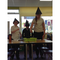 Performing the 3 witches speech from Macbeth