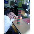 I can make a repeating pattern, 2 colours