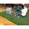 Play session: playing together independently