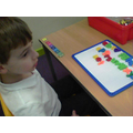 The magnetic letters make it easy to rhyme!