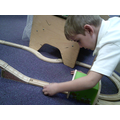 I can construct a train track