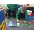 We have been using numicon to show we understand..