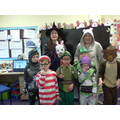 We all dressed up as book characters
