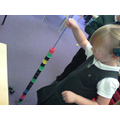 Threading - fine motor and hand-eye co-ordination