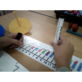 I am learning to add using a numberline...