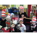 We celebrated World Book Day as The Cat In The Hat