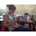 Mrs Cramp's got a big egg!