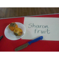 Sharon fruit are a good source of fibre