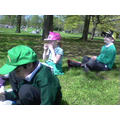 We had a great picnic in the park!
