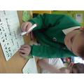 We used colourful semantics