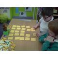 We played pairs to rehearse our number bonds to 10