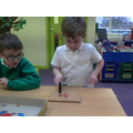 We have been looking at shapes and colours