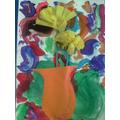I made daffodils too