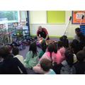 Magical Mayhem taught us to juggle!
